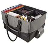 AutoExec AUE14000 File Tote Bag – Gray and Black, Bags Central