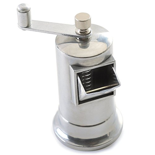 Simply Silver - Grinder - Norpro 712 Heavy Duty Metal 4'' Pepper Mill Adjustable Fine To Coarse Grinder 3oz by Simply Silver
