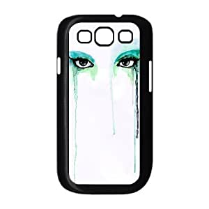ALICASE Diy Back Case Watercolor For Samsung Galaxy S3 i9300 [Pattern-1]