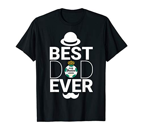 Santos Laguna Best Dad Ever Fathers Day Gift T-Shirt FC ()
