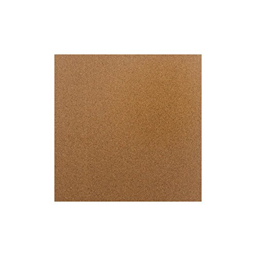 Wisamic 300x300x3mm Cork Thermal Insulator with 3M Adhesive Tape Pre-applied for 3D Printer Prusa, Tevo Tornado, Mendela, AO Series
