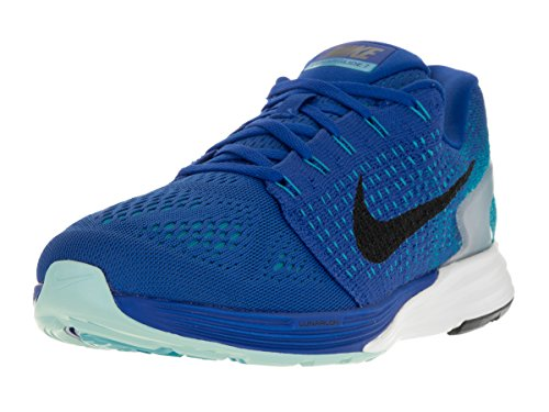 261716229ffa Nike Men s Lunarglide 7 Running Shoe Game Royal Black Blue Lagoon Copa 10.5  M US - Buy Online in Oman.