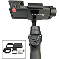 Drone Fans GOPRO Hero 5 Accessories Adapter Switch Mount Plate for OSMO Mobile Gimbal Camera