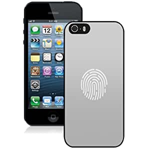Personalized Phone Case Design with Gray Touch ID Fingerprint Sensor iPhone 5s Wallpaper