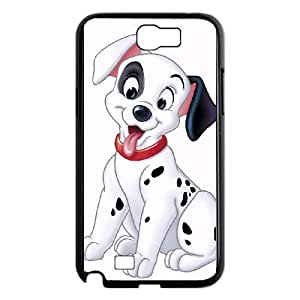 Samsung Galaxy N2 7100 Cell Phone Case Black Disney One Hundred and One Dalmatians Character Patch 09 Rgwii