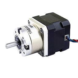5:1 Planetary Gearbox Nema 17 Stepper Motor 0.4A for DIY CNC Robot 3D Printer