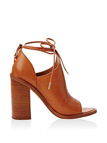 Zapatos negros de punta abierta formales Windsor Smith para mujer wFuIhw