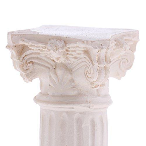 Homyl 3D Spanish Roman Column Pillar Model Miniature for Sand Table Garden Yard Diorama Scenery Layout Accessory