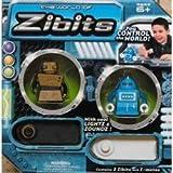 Zibits Remote Control 2 Robot Gift Pack - SPROC (Black/Gold) & DEX (Blue/White)