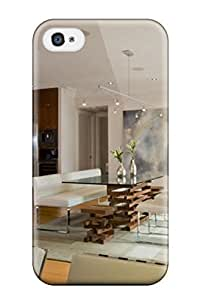 New Style Awesome Case Cover/iphone 4/4s Defender Case Cover(cottage Style Living And Dining Room)