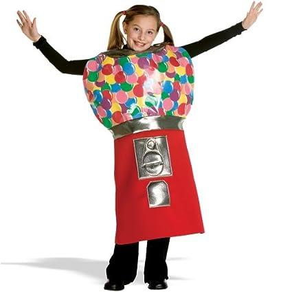 Amazoncom Bubble Gum Machine Child Costume Standard Toys Games