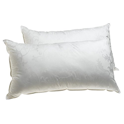 Deluxe Comfort Dream Supreme, King - Gel Fiber Fill - Hotel Quality - Luxury Bed Pillow, White - Single ()
