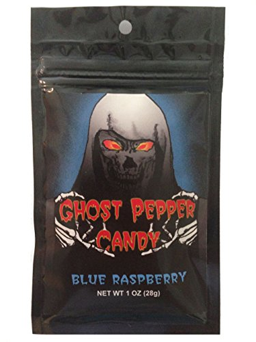 (Blue Raspberry Ghost Pepper Candy)