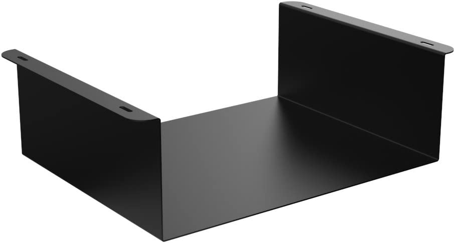 Oeveo Under Mount 445-14W x 4.75H x 11D | Under Desk Computer Mount for HP EliteDesk SFF and Lenovo ThinkCentre SFF Computers | UCM-445
