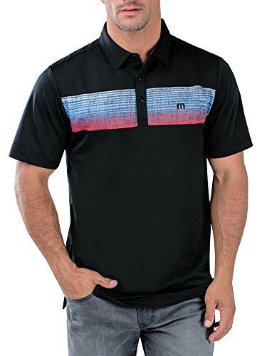 TravisMathew New Three Jack Golf Polo Black X-Large