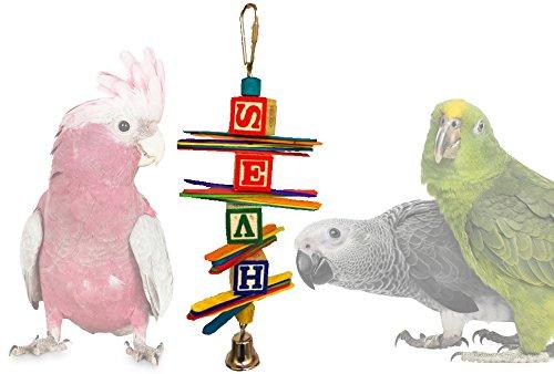 Fanning Popsicle & Wood Blocks Bird Chew (Sandwiched Fan)