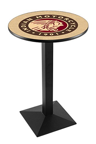 Holland Bar Stool Co. L217B42Indn-HD Indian Motorcycle Pub Table, 28