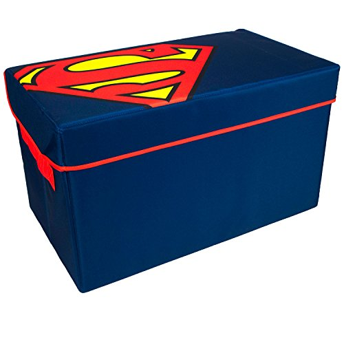 - Everything Mary Superman Collapsible KidsToy Storage Chest byDc Comics - Foldable Toy Basket Organizer with Strong Handles & Design