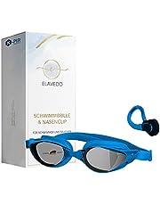 N-PIR Duits merk I Premium zwembril zwembril incl. neusclip 3.0 | Innovatie 2022 als set sport en vrije tijd | Anti-condens-duikbril met UV-bescherming voor een heldere ervaring onder water