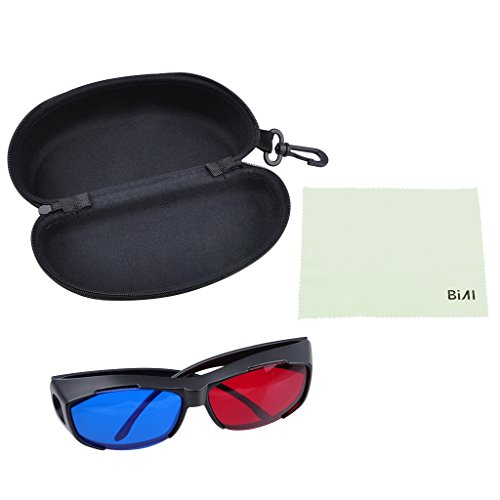 54fb5cdea0 BIAL Red-blue 3D Glasses  Cyan Anaglyph Simple style 3D Glasses 3D movie  game-Extra Upgrade Style