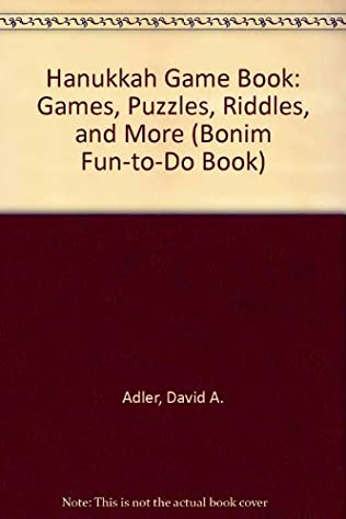 book cover of Hanukkah Game Book: Games, Puzzles, Riddles, and More