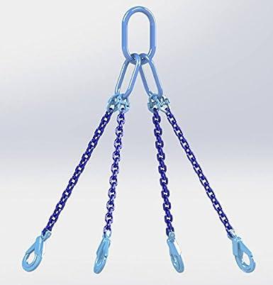6mm Chain Dia 1 Hackett Amz1023306/Cha/îne Sling Autocollant avec crochets de verrouillage