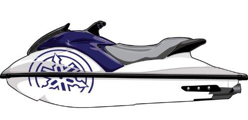 Exotic Signs Yamaha GPR 1 Color Graphic Kit - EY0029GPR (065 Cobalt Blue)