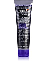 Fudge Clean Blonde Violet Toning Shampoo for Unisex, 0.15 Pound