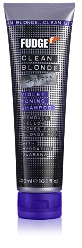 FUDGE Clean Blonde Violet Toning Shampoo for Unisex, 0.15...