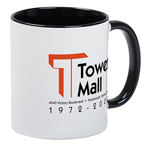 CafePress - Tower Mall Mug - Unique Coffee Mug, Coffee - Hampton Virginia Mall