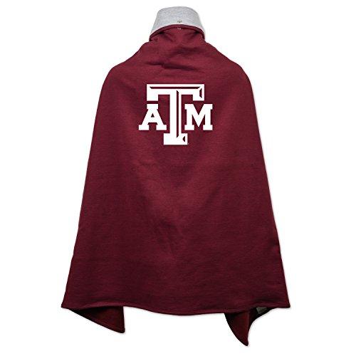 (NCAA Texas A&M Aggies Children Unisex Cape Drape, One Size, Maroon)