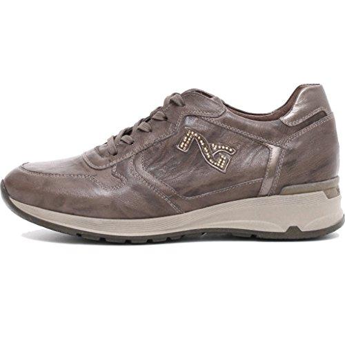 Sneaker Femme Jardins Noir En Cuir A719220d / 500 38