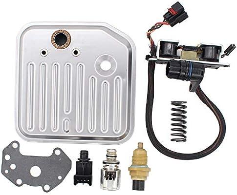 NewYall Trans Transmission Filter Kit w//Governor Pressure EPC Sensor /& Solenoid