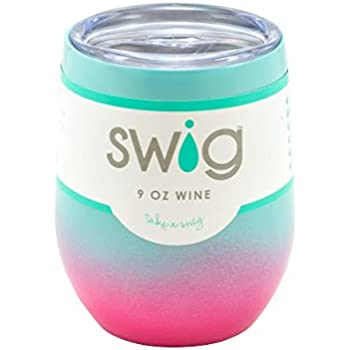Occasionally Made Swig Wine Cup (Seafoam Ombre)