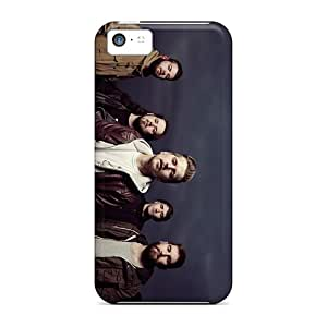 InesWeldon Apple Iphone 5c Excellent Cell-phone Hard Covers Customized Colorful Suicide Silence Band Pictures [aUq437qQiz]