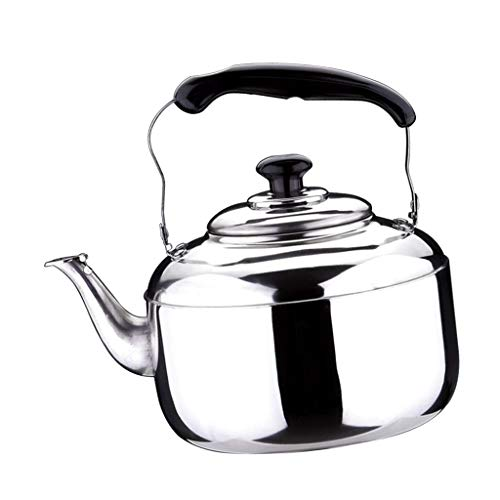 (Zhong$chuang Household 4L stainless steel light whistling kettle with traditional/retro nozzle hob or stove t (Size : 5L))