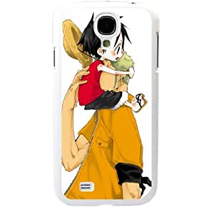One Piece popular Anime Manga Cartoon Monkey D. Luffy and Roronoa Zoro Comic Samsung Galaxy S4 SIV i9500 Soft Black or White case (White) by supermalls