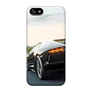 5/5s Scratch-proof Protection Cases Covers For Iphone/ Hot Lamborghini Aventador Art Phone Cases wangjiang maoyi