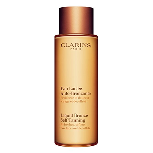(Clarins Liquid Bronze Self Tanning for Face and Décolleté 125ml)
