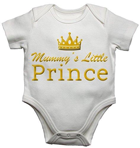 Mummys Little Prince Funny Baby Vest Bodysuit Babygrow (3 - 6 Months)