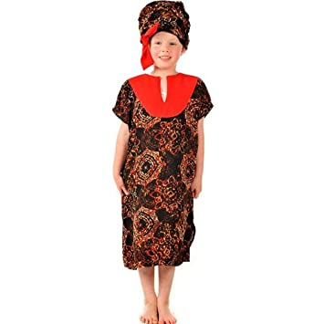 Girls Kids Childrens African Lady/Girl Multicultural Educational Fancy Dress Costume 5-7 Years  sc 1 st  Amazon UK & Girls Kids Childrens African Lady/Girl Multicultural Educational ...