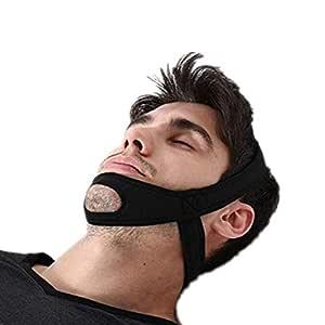 Deje de roncar la correa de la barbilla, tapicería de ronquido ...