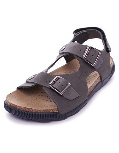 Geox Sand.Storm mixte enfant, cuir lisse, sandales