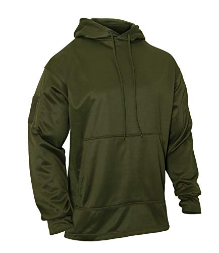 Rothco Concealed Carry Hoodie, Olive Drab, 2XL