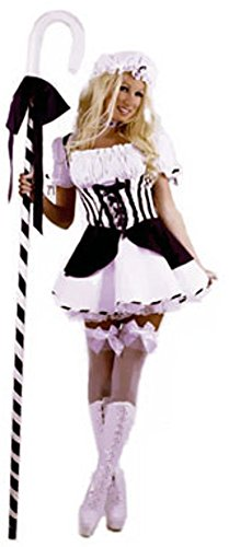 [Blue Sexy Little Bo Peep Costume (Size: Small 5-7)] (Bo Peep Costumes Adults)