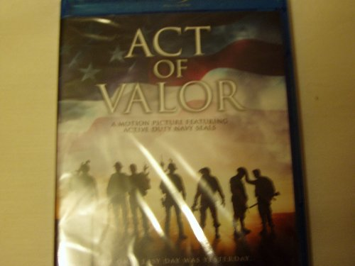 Blu Ray Act of Valor (Act Of Valor Bluray)