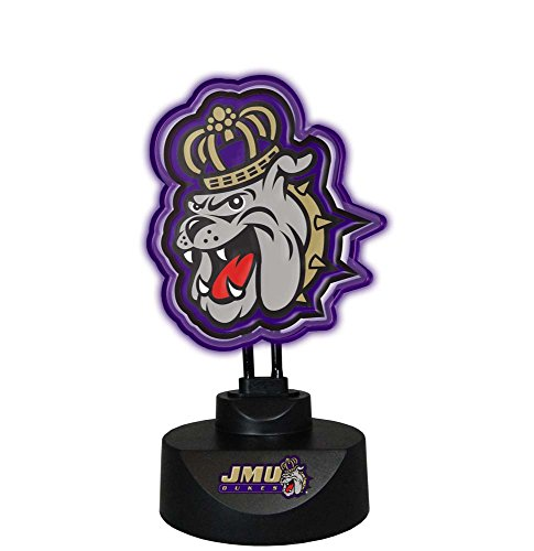 NCAA James Madison University Col-Jmu-1808Neon Lamp, Multi, One Size by Memory Company