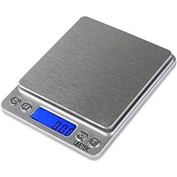 UEETEK 500g/0.01g Digital Pocket Scale Digital Food Scale Jewelry Scale with LCD Screen