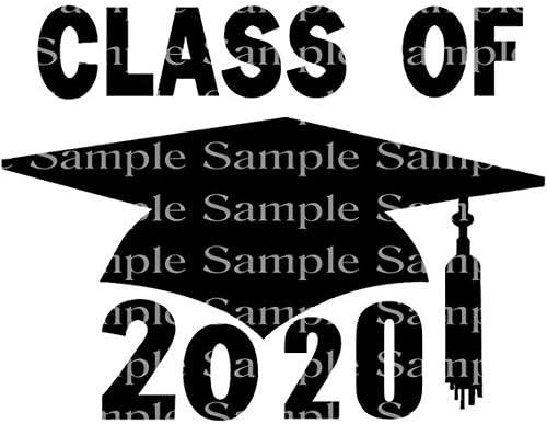 Spring Graduation 2020.1 2 Sheet Class Of 2020 Spring Graduation Cap D24251 2d