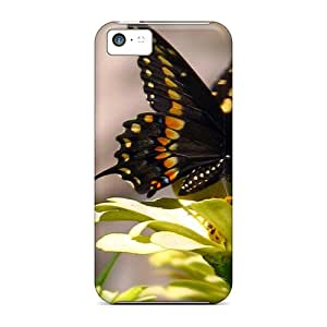 Quality AbbyRoseBabiak Cases Covers With Butterfly Yellow Nice Appearance Compatible With Iphone 5c